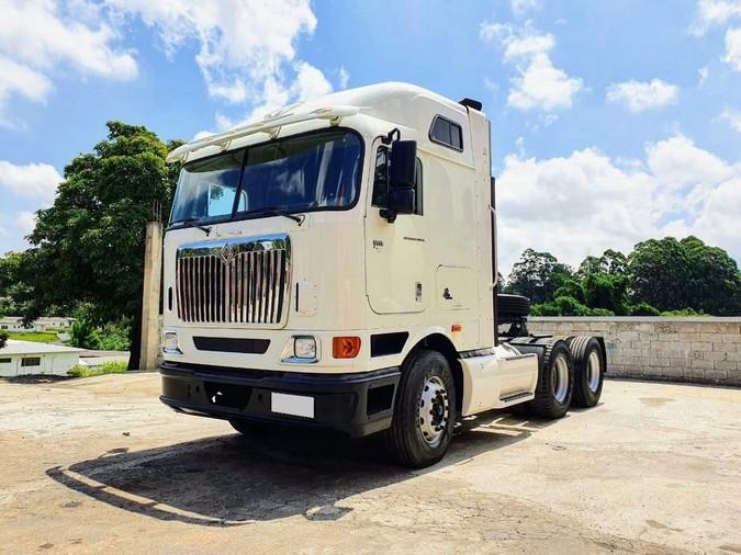 Raridade: International 9800i com apenas 1.200 quilômetros rodados é colocado à venda no Brasil