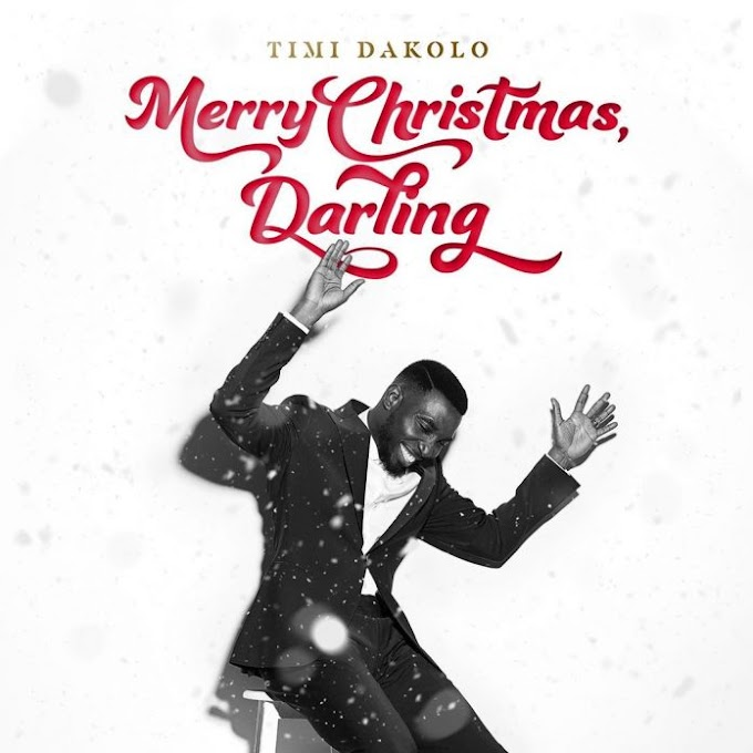 Timi Dakolo Unveils 'Merry Christmas Darling' Album Cover Art & Release Date.