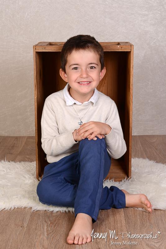portrait enfant en studio vendée 85