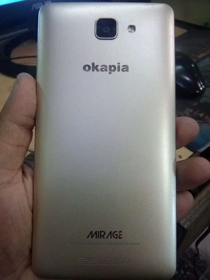 Okapia Mirage Flash File MT6735 5.1 Scatter Firmware 100% Tested