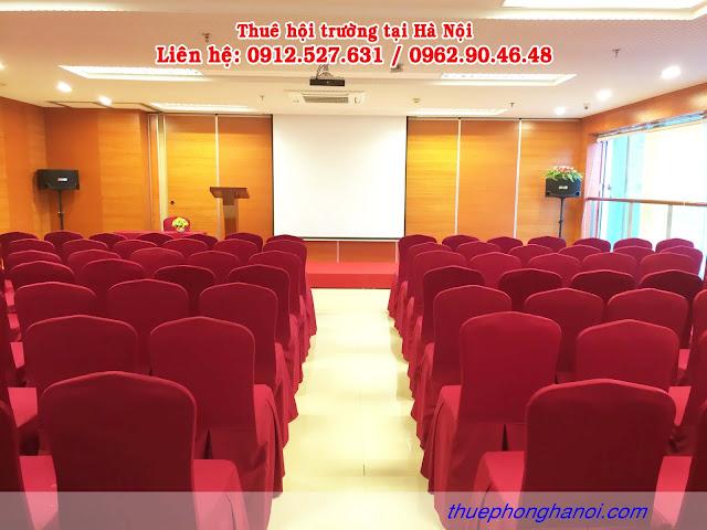 Cho thuê phòng hội thảo VIP từ 100 - 120 chỗ.