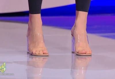 scarpe Giulia Salemi scherzi a parte 19 settembre