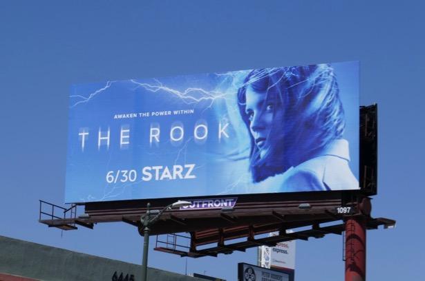 Rook series premiere billboard