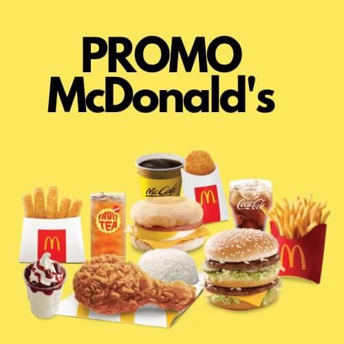 Ingin menikmati Menunya, Simak Cara Mendapatkan Promo Mcdonald's Berikut Ini