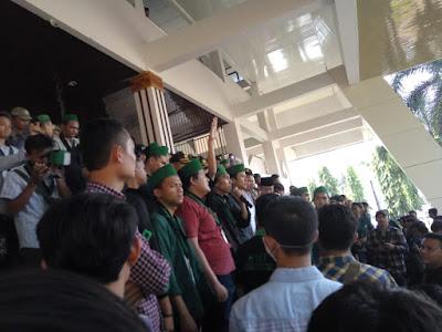 HMI Cabang Bandar Lampung Galang Aksi Rapor Merah Jokowi-JK Jilid II