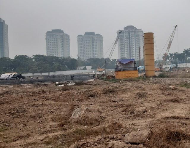 Tiến độ khởi công Dự án Sunshine KS Finance Financial Landmark Ciputra Hà Nội chung cư Empire Tây Hồ Tây