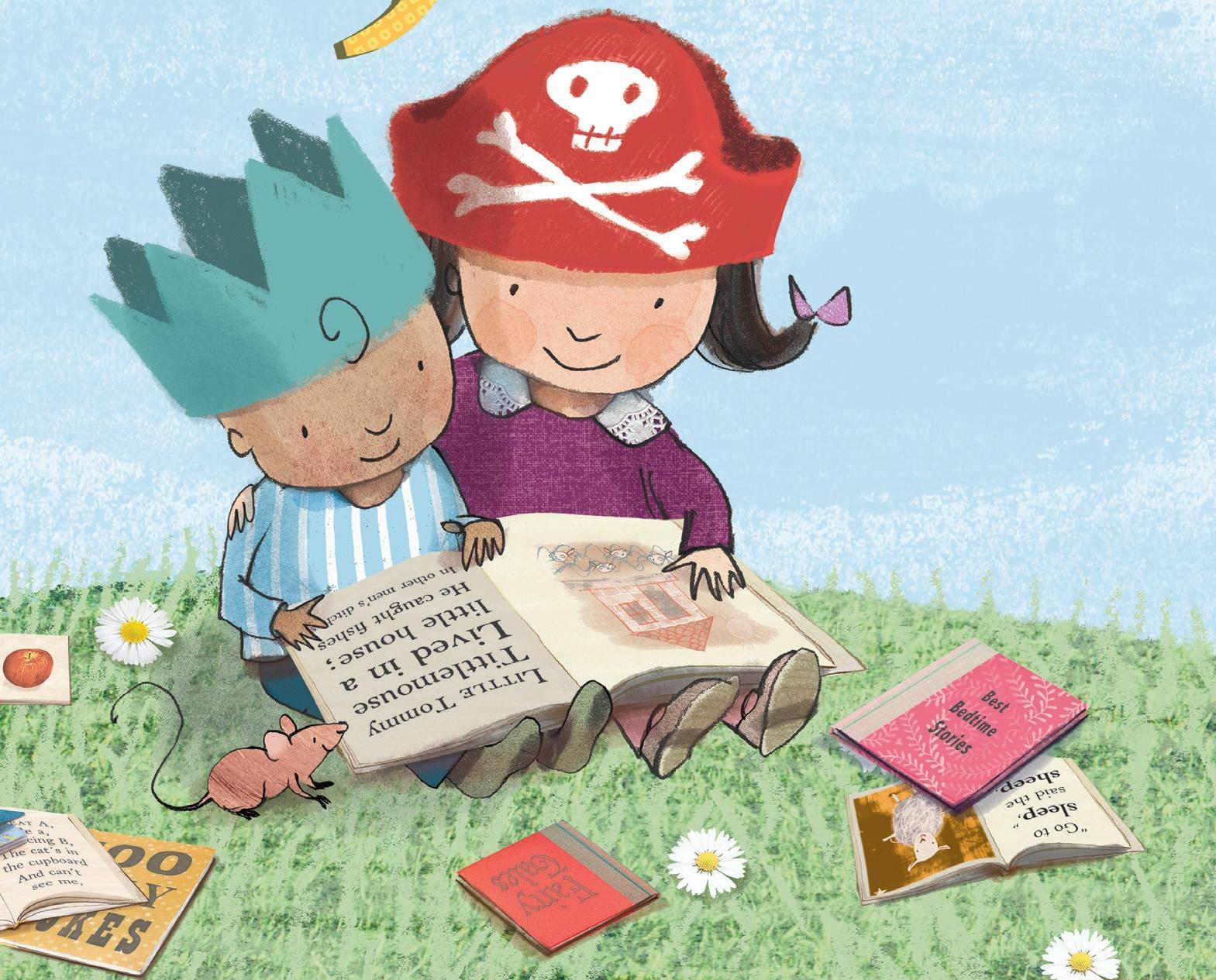 Resultat d'imatges de Il.lustracions  lectura infantil