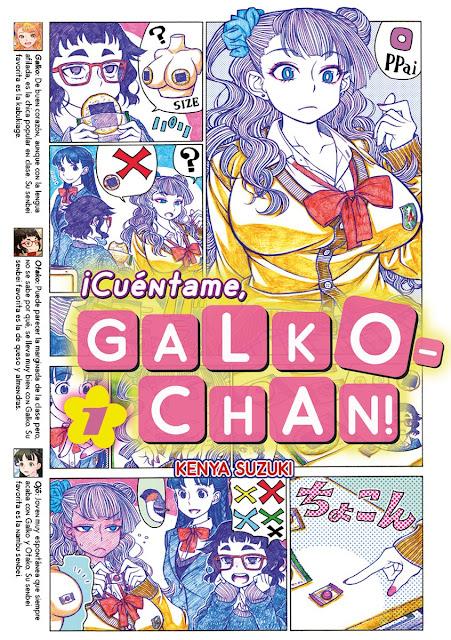 "Fandogamia licencia el manga ""Oshiete! Galko-chan"""