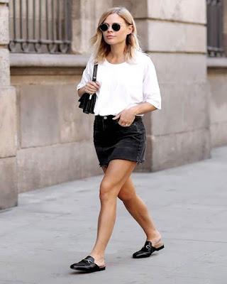 Outfit de verano minimalista de moda