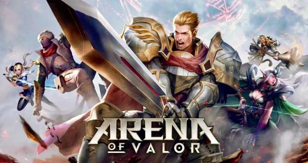 أرينا أوف فالور Arena of Valor افضل تجربة موبا بنمط 5v5 العديد من الأوضاع ، الكثير من المرح