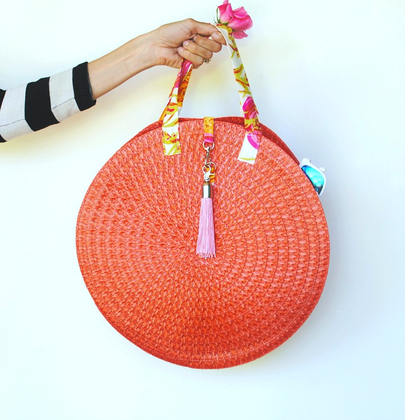diy round bag