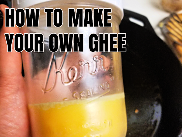 Easy Homemade Ghee