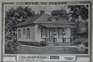 Sears Wayside model in 1918 catalog