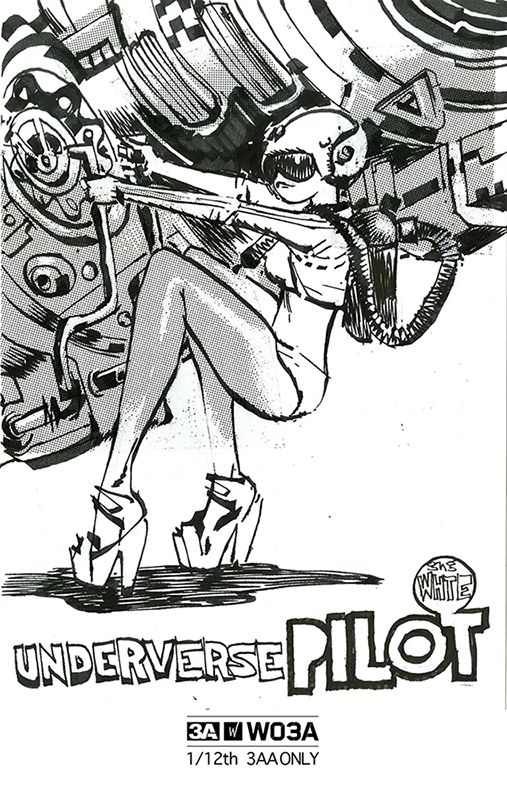 Underverse Pilot WO3A - Illustration by AshleyWood
