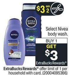 FREE Nivea Body Wash CVS Deal 9/26-10/2