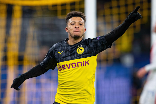 Emile Heskey picks Jadon Sancho over Erling Haaland and Kylian Mbappe