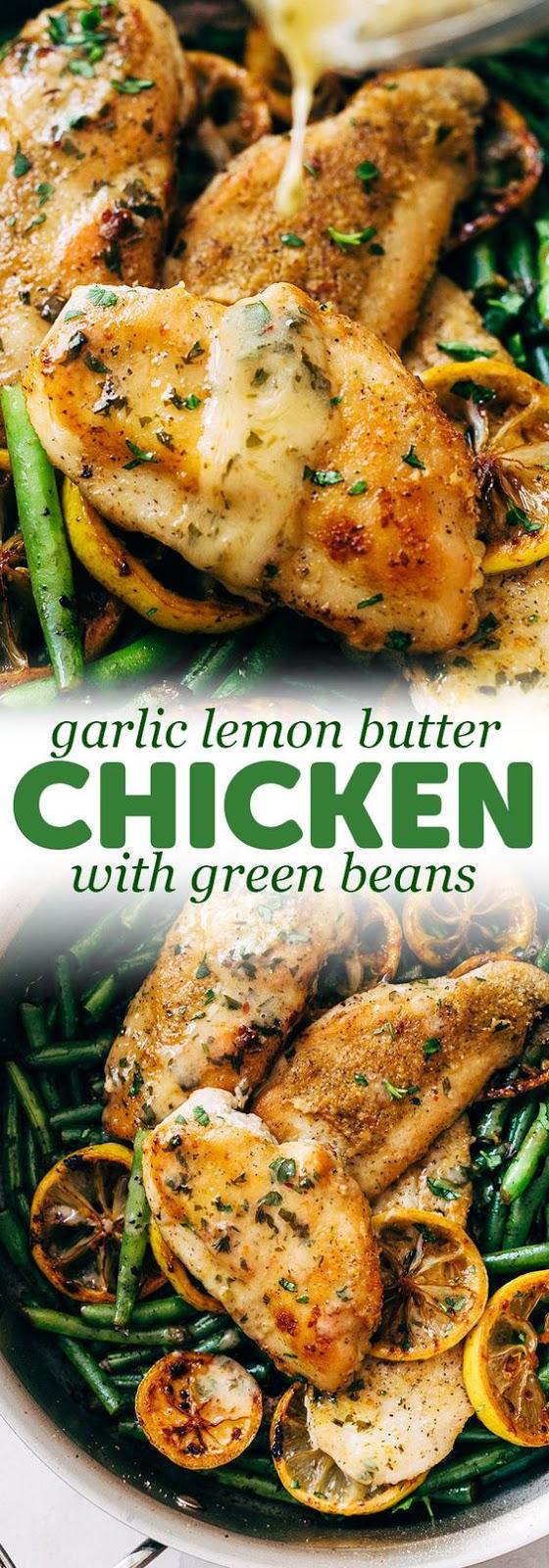 Delicious Skillet Garlic Lemon Butter Chicken