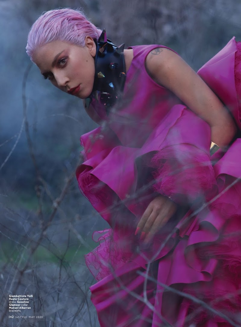 Lady Gaga Featured  For InStyle US May 2020 Issue | Celebrity Photos Daily