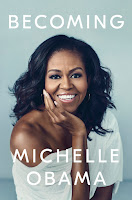 Becoming by Michelle Obama, book cover and review