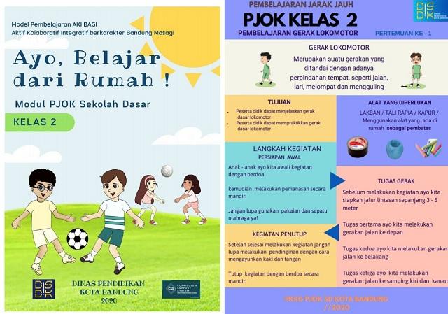 Modul Belajar Dari Rumah PJOK SD