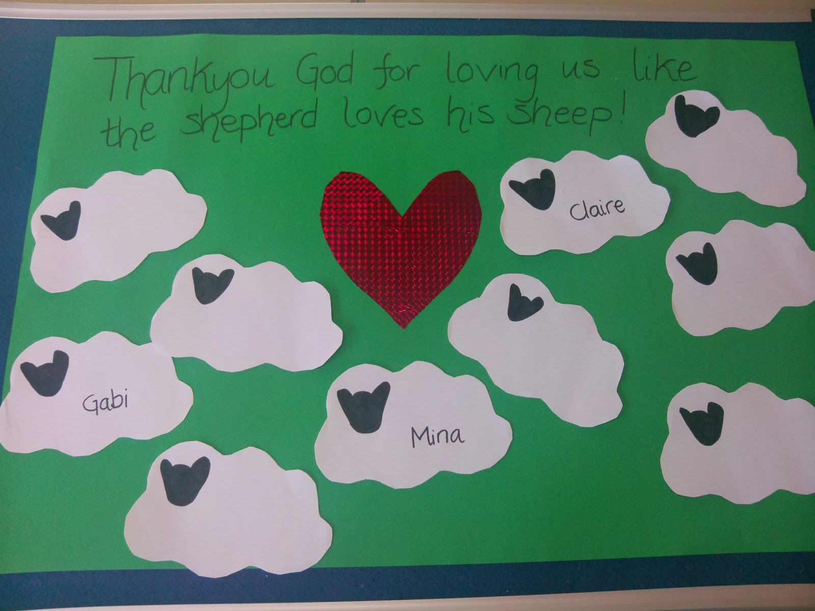 Flame Creative Children S Ministry Lost Sheep Prayer