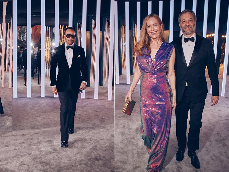 Tom Ford, Leslie Mann and Judd Apatow