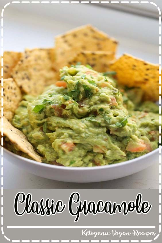 Perfect for any party and always a winner Classic Guacamole