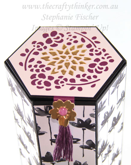 #thecraftythinker, #stampinup, #cardmaking, #inkitstampit, 3D, Window Box, Stampin' Up! Australia Demonstrator, Stephanie Fischer, Sydney NSW