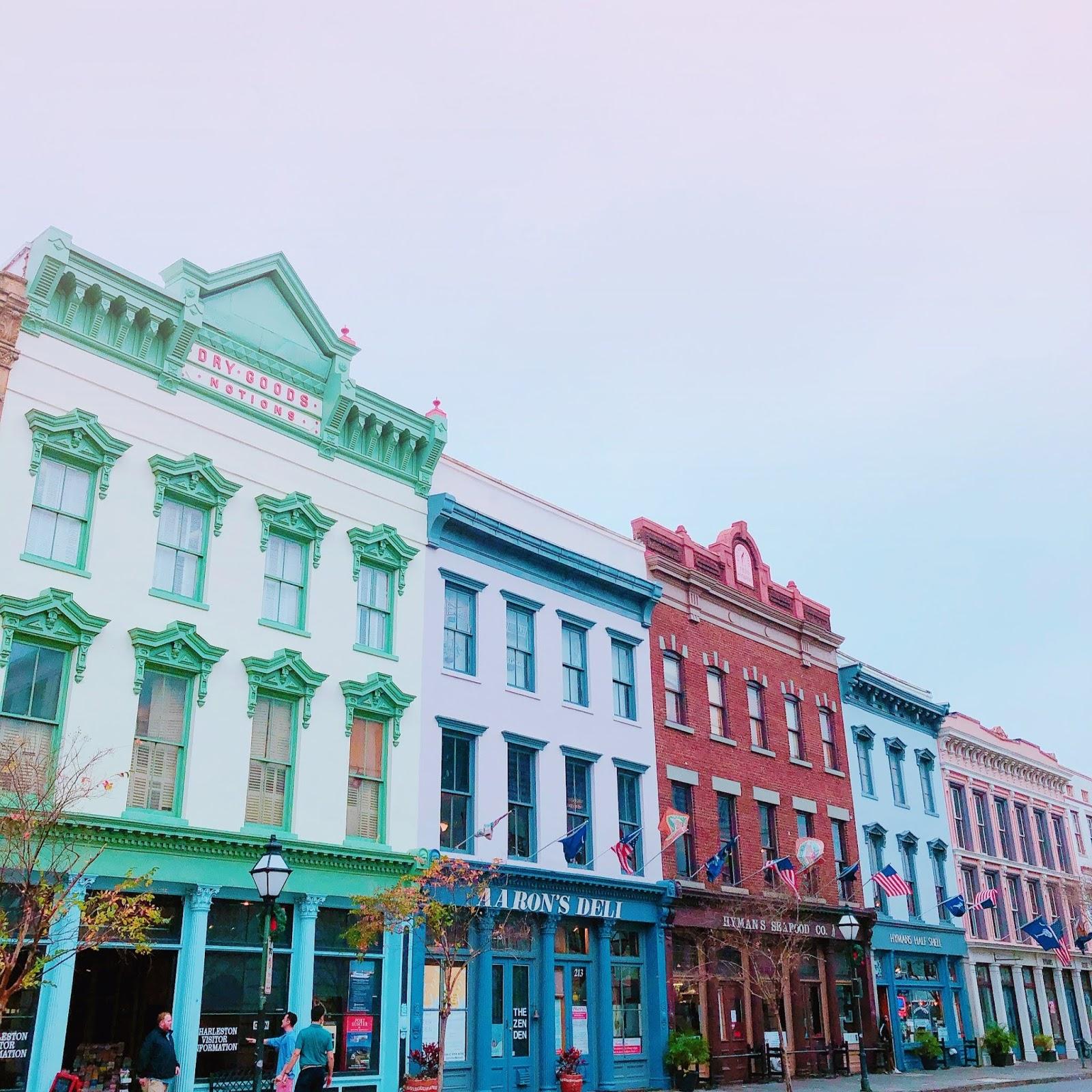 Charleston, un rincón colorido y romántico