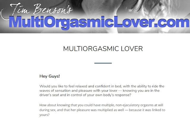Sex Product: Multi-Orgasmic Lover