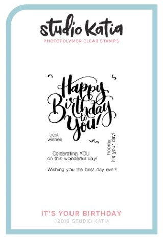 Studio Katia - IT'S YOUR BIRTHDAY