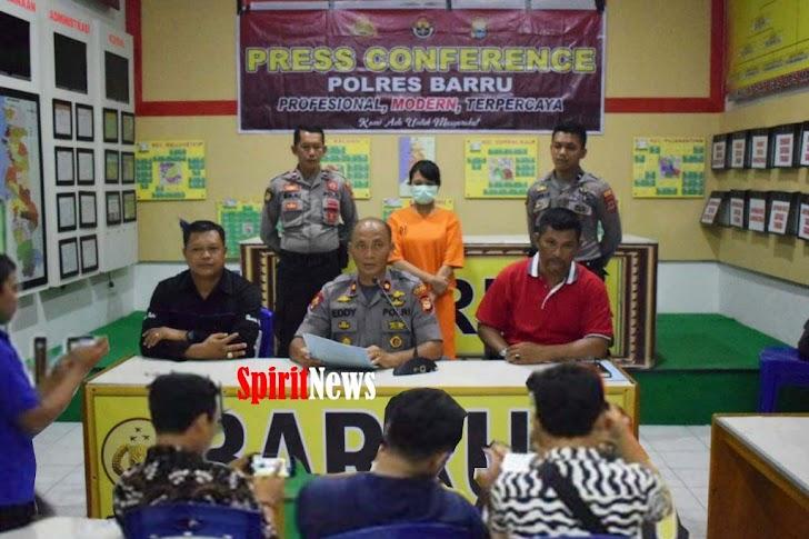 Wakapolres Barru Pimpin Jumpa Pers, Terkait Kasus Pornografi Alias Caddoleng-Doleng