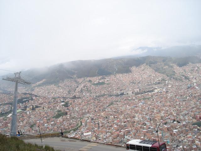 La paz manzarası, Bolivya