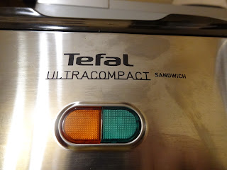 Tefal Ultracompact SM1552 on/off light - sandwich
