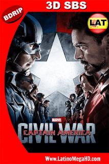 Capitán América: Civil War (2016) [IMAX Edition] Latino Full 3D SBS BDRIP 1080P - 2016