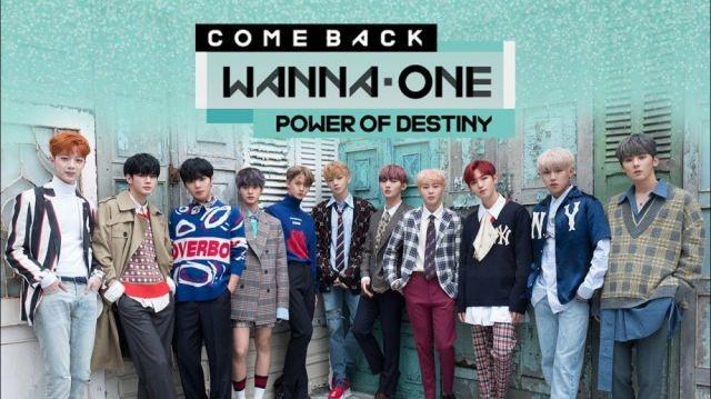 Wanna One COMEBACK SHOW - POWER OF DESTINY