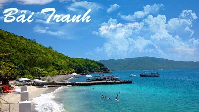 Bãi Tranh- Tour hot du lịch Nha Trang- Đà Lạt giá rẻ