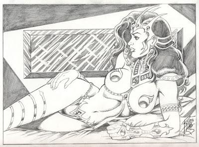 Dejah Thoris by Robb Phipp