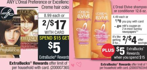 loreal freebie deal