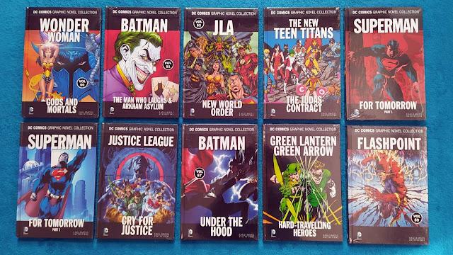 Eaglemoss DC Comic Collection Vol 50 - 59