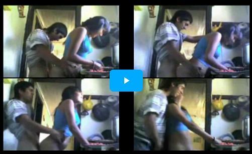 ngintip pengantin baru ngentot di dapur film bokep xxx