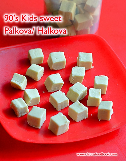 90's kids petty shop sweet - Halkova / Palkova / Maida burfi