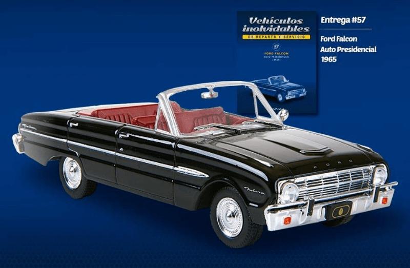 Ford Falcon Convertible 1965 Auto presidencial Vehículos inolvidables de reparto y servicio