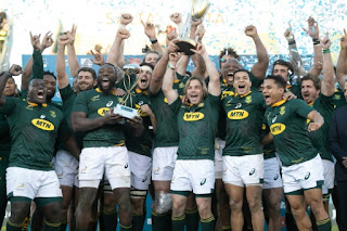 RUGBY - The Rugby Championship 2019: Sudáfrica levantó su primer Rugby Championship