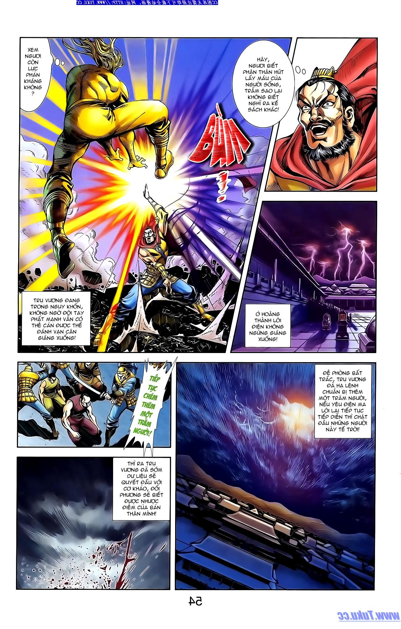Cơ Phát Khai Chu Bản chapter 147 trang 10