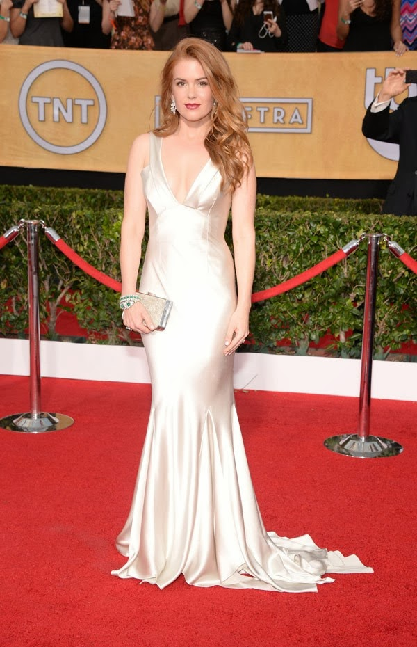 Isla Fisher sag awards 2014