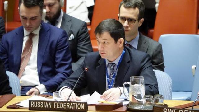 Rusia a EEUU: Abolir sanciones es verdadera solidaridad con Beirut