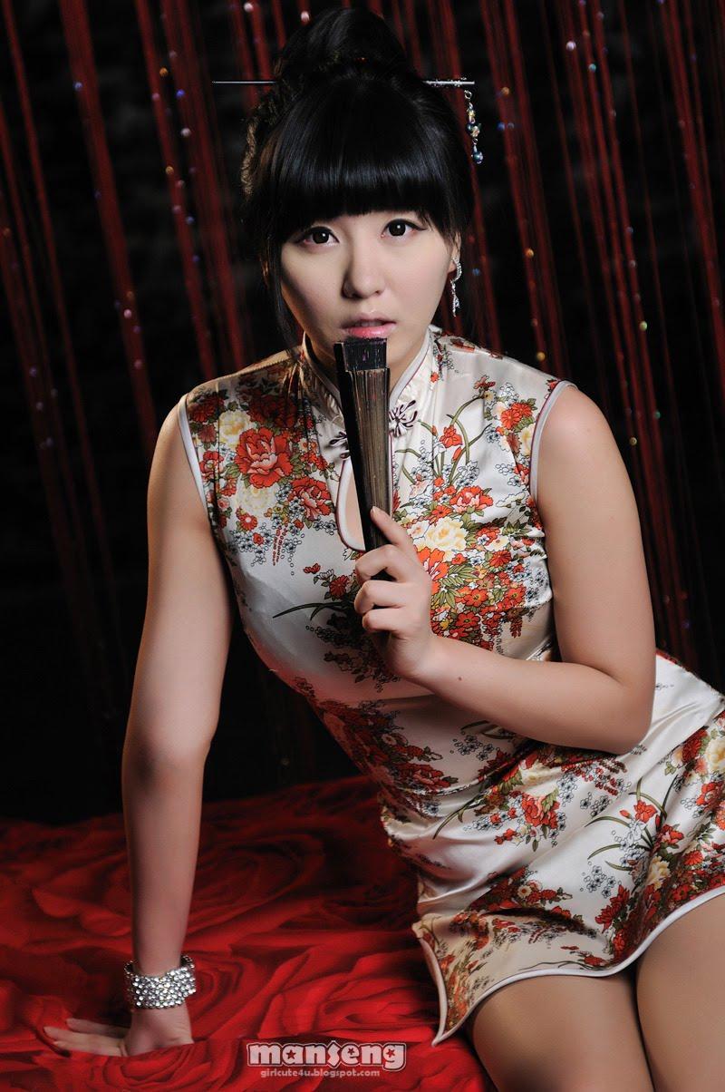 Xxx Nude Girls Ryu Ji Hye  Chinese Dress-1766