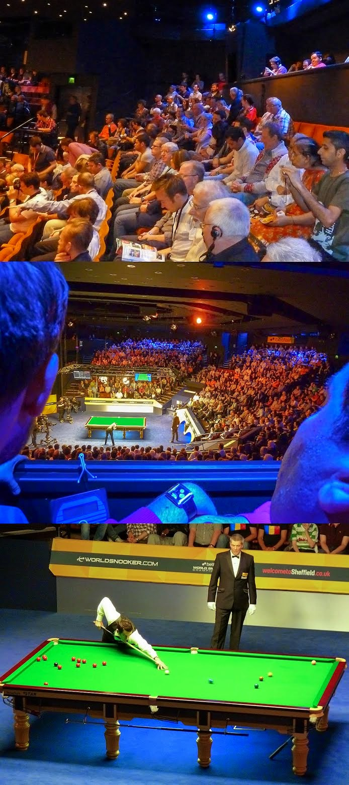 World Snooker Championship 2013 Tour