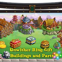 Farmville Farms Unwither Ring Buildings and Parts